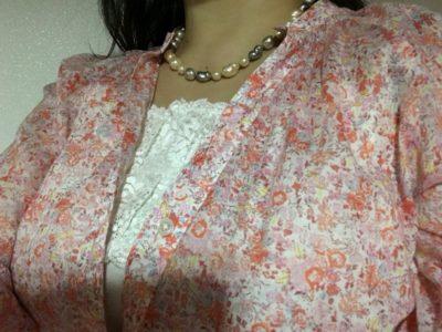 ロマンスタイプのシャツの着方