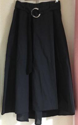 フィッシュテールのスカート