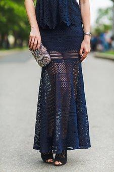 ロマンティックなスカート