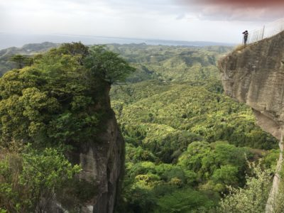 千葉県にあるラピュタ!鋸山
