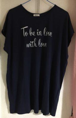 ロマンスタイプのロゴTシャツ