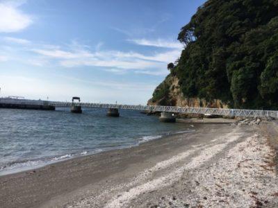 猿島、海水浴