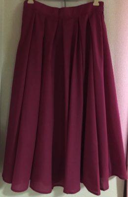 ロマンスタイプで骨格ストレートなスカート