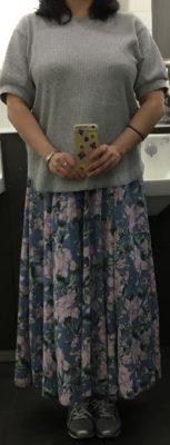 50代のロマンスタイプの服