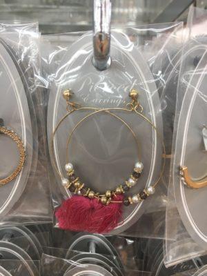 ロマンスタイプのイヤリング
