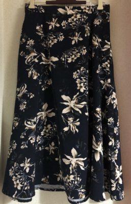 フェミニンなスカート