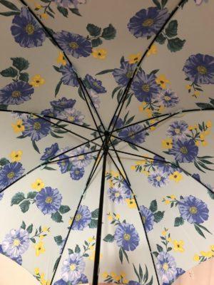 花柄の傘、ロマンスタイプ