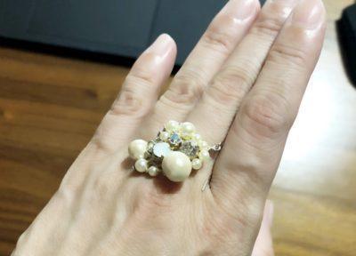 ロマンスタイプの指輪