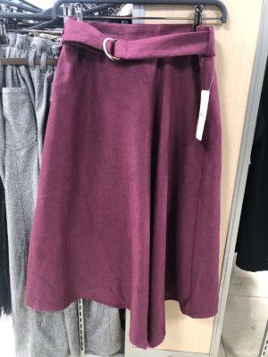 ロマンティックパープルな秋色スカート、ロマンスタイプ