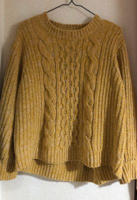 誰でも着られるセーター