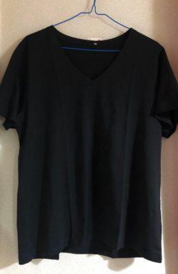 ユニクロU黒Tシャツ