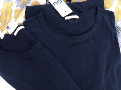 GUのTシャツワンピース